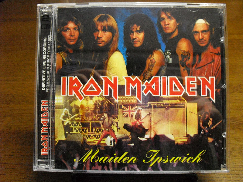 Maiden Ipswich (Iron Maiden Bootleg CD): Kiss Bootleg 大好き~また西
